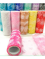 15CM * 10 Yards Flash Mesh Ice Rolls/Snowflake Rolls/Tulle