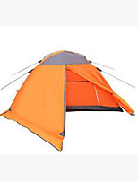 3 a 4 Personas Tienda Doble Carpa para camping Tienda de Campaña Plegable Mantiene abrigado para Camping y senderismo CM Otros Materiales