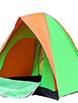 2 personnes Tente Unique Tente pliable Une pièce Tente de camping 1000-1500 mm Térylène Ruban adhésif argentéSéchage rapide Ventilation