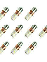 8W Lâmpadas Espiga T 60 SMD 2835 800 lm Branco Quente Branco V 10 pçs