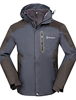 Men's Tops Skiing Camping / Hiking Fishing Leisure Sports DownhillWaterproof Breathable Thermal / Warm Windproof Fleece Lining Wearable