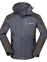 Муж. Куртки 3-в-1 Сохраняет тепло С защитой от ветра Флисовая подкладка Пригодно для носки Удобный Верхняя часть для Катание на лыжах