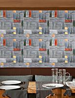 Geometrický secesní motiv 3D Tapety pro domácnost Moderní Wall Krycí , PVC a vinyl Materiál Samolepící tapeta , pokoj tapeta