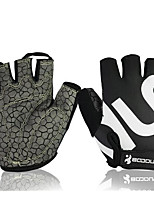 Motorcycle Gloves Men And Women Silicone Explosion Riding Semi - Finger Fitness Gloves Wholesale