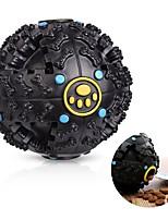 Игрушка для котов Игрушка для собак Игрушки для животных Шарообразные Жевательные игрушки Интерактивный Игрушки с пискомСкрип Эластичный