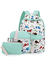 Women Bags All Seasons Canvas Backpack with for Casual Black Sky Blue Amethyst gream white Navy Blue