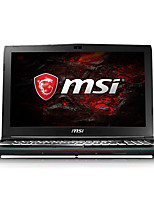 Ordenador portátil del juego del msi 15.6 pulgadas intel i7-7700hq 8gb ddr4 128gb ssd 1tb hdd windows10 gtx1050 2gb gp62m 7rd-222cn