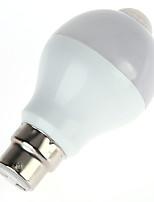 5W Smart LED Glühlampen A60(A19) 10 SMD 5630 450 lm Warmes Weiß Kühles Weiß Infrarot-Sensor Menschlicher Körper Sensor Lichtsteuerung V1