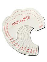 10 шт немедленный подтяжка груди поддержка невидимый бюстгальтер нажимать наклейки наклейки пасты поддержка красочные наклейки груди