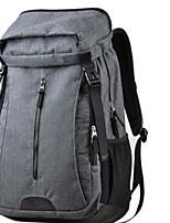 Men Shoulder Bag Polyester ABS+PC All Seasons Casual Outdoor Round Zipper Gray Black