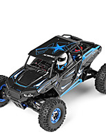 WL Toys 12428-B Rock Climbing Car 1:12 Brush Electric RC Car 50 2.4G Ready-To-Go 1 x Manual 1 x Charger 1 x RC Car
