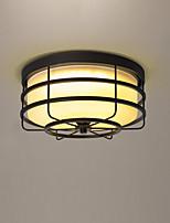 Lampe de plafond en verre led pour chambre et salle de réservation