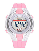 Kid's Sport Watch Digital Water Resistant / Water Proof Noctilucent Rubber Band Blue Pink Purple