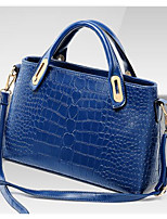 Women Bags All Seasons PU Shoulder Bag with for Casual Outdoor Blue White Yellow