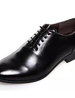 Masculino Oxfords Caminhada Botas da Moda Sapatos formais Microfibra Primavera Verão Outono Inverno Casamento Festas & Noite Franzido