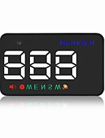 GEYIREN A5 HUD Speed of theSatellite Signal Driving Direction Voltage Overspeed Alarm Automatically Switch Machine Metric System Switching Highlig