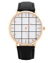 Жен. Модные часы Наручные часы Повседневные часы Китайский Кварцевый / PU Группа Конфеты Повседневная Элегантные часы Черный Белый Розовый