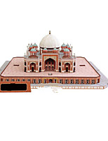 Puzzle Kit fai-da-te Puzzle 3D Costruzioni Giocattoli fai da te Castello Edificio famoso Architettura