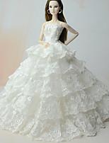 Vestidos Vestido Para Boneca Barbie Para Menina de Boneca de Brinquedo