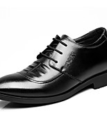 Men's Oxfords Formal Shoes Cowhide Spring Fall Office & Career Formal Shoes Black Under 1in