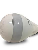 HT Home Monitor Wireless Network WiFi Camera 360 Degree Light Bulb Illumination Version Panoramic Camera Surveillance Camera 16G Memory