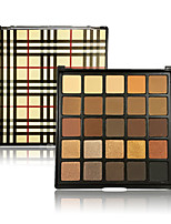 Eyeshadow Palette 25 Colors Eye Shadow Makeup Deep Browns Pigment Shimmer Glitter Matte Earthy Warm Glow Metallic  Collection Set