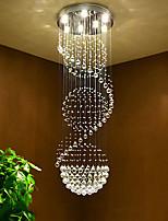 Lampadari a sospensione in cristallo a soffitto ciondolo lampadari per lampade d'illuminazione per le scale d'albergo