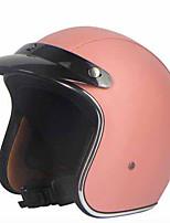 Casque Bol Ajustable Compact Respirable Meilleure qualité Sportif Faux Cuir Casques de moto