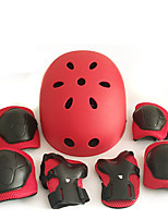 Enfants Adulte Équipement de protection Protège Genoux, Protège Coudes & Protège Poignets Casque de Skate pour Cyclisme Patinage sur