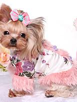 Dog Clothes/Jumpsuit Dog Clothes Keep Warm Princess