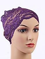 Для женщин Шапки Цветы Широкополая шляпа,Весна/осень Лето Хлопок Однотонный Бант