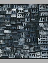 Ручная роспись Абстракция Модерн 1 панель Холст Hang-роспись маслом For Украшение дома