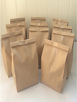 50pcs Grocery Store Bag 27.5 x 15 x 9 cm Brown Kraft Paper Bag Beter Gifts® Life Style / DIY Gift Wrap