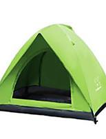 2 personnes Sac de Voyage Tapis gonflé Tente pliable Tente de camping Satin Elastique Garder au chaud