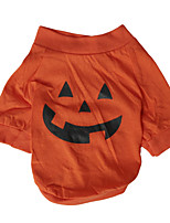 Dog Costume Shirt / T-Shirt Dog Clothes Cosplay Pumpkin