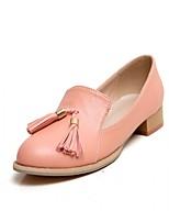 Для женщин Мокасины и Свитер Удобная обувь Оригинальная обувь Синтетика Дерматин Полиуретан Весна ОсеньСвадьба Для праздника Для