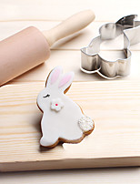 Benny Rabbit Cookies Cutter Stainless Steel Biscuit Cake Mold Metal Kitchen Fondant Baking Tools