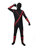 Zentai Suits Morphsuit Ninja Zentai Cosplay Costumes Lolita Leotard/Onesie Zentai Polyester Men's Halloween Christmas