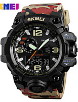 SKMEI Men's Sport Watch Digital Watch Wrist watch Japanese Quartz Digital Calendar Water Resistant / Water Proof Dual Time Zones Alarm