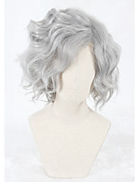 14inch Short Fate/Grand Order Gankutsuou Wig Gray Synthetic Anime Cosplay Wigs CS-331A