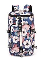Women Sports & Leisure Bag Canvas All Seasons Casual Barrel Zipper Red / Blue Fuchsia Black