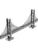 Rompecabezas Puzzles 3D Puzzles de Metal Bloques de construcción Juguetes de bricolaje Novedad Aluminio