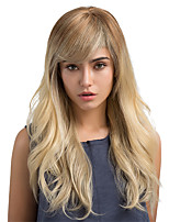 Novel Fashion Ombre Long Hair Human Hair Wigs