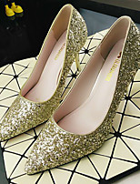Women's Heels Slingback PU Spring Casual Slingback Silver Gold 2in-2 3/4in