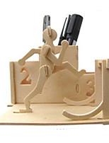 Quebra-cabeças Kit Faça Você Mesmo Quebra-Cabeças 3D Blocos de construção Brinquedos Faça Você Mesmo Outra Madeira Natural