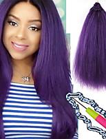 Yaki straight hair pre loop crochet hair extensions 18inch synthetic braiding eunice crochet braid hair 26roots relooped easy crochet Straight hair