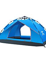 3-4 человека Световой тент Двойная Палатка Автоматический тент Водонепроницаемый Влагонепроницаемый Компактность 1000-1500 мм для Отдых и