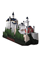 Jigsaw Puzzles DIY KIT 3D Puzzles Building Blocks DIY Toys Castle Famous buildings Architecture