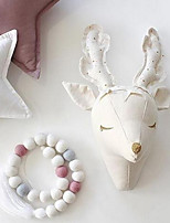 Nordic children 's house children' s clothing shop entrance door decoration reindeer lamb wall decorated wall decoration
