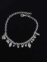 Women's Girls' Anklet/Bracelet Alloy Handmade Fashion Vintage Bohemian Punk Hip-Hop Rock Jewelry ForWedding Party Halloween New Baby